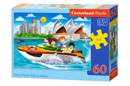 Пазл Путешествие на яхте в Сиднее 60 эл
