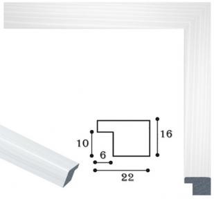 Рамка для пазлов 47 х 68 см белая
