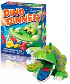 Обед крокодила, настольная игра, Joy Band