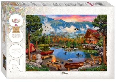 Пазл Горное озеро 2000 эл Step Puzzle