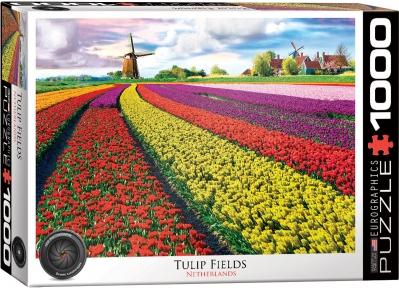 Пазл Eurographics Поле тюльпанов в Нидерландах 1000 эл 6000-5326