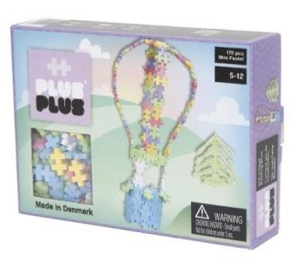 Конструктор Plus-Plus Mini пастельный Воздушный шар 170шт