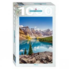 Пазл Озеро в горах 1000 эл