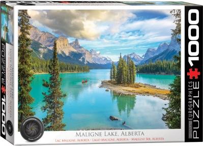 Пазл Eurographics Озеро Малайн Альберта 1000 эл 6000-5430