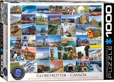 Пазл Eurographics Дорогами Канады 1000 эл 6000-0780
