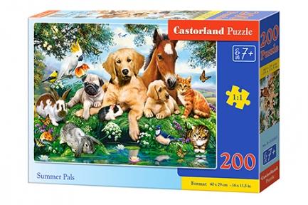 Пазл Животные малыши 200 эл