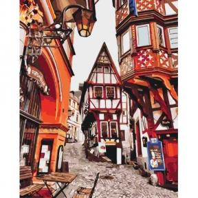 Картина по номерам Яркие улицы Германии КНО3539 Идейка