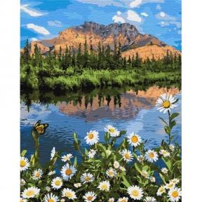 Картина по номерам Горный пейзаж КНО2833 Идейка