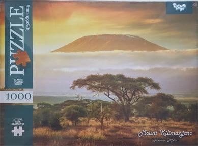 Пазл Гора Килиманджаро 1000 эл