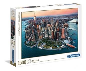 Пазл Город Нью Йорк с высоты 1500 эл