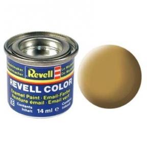 Краска для моделей эмалевая Revell № 16 Песочно-желтая матовая 14 мл.