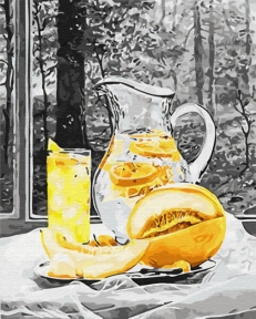 Картина по номерам Лимонад 50 х 40 см Brushme