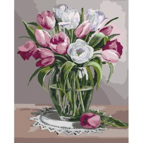 Картина по номерам Весенний аромат КНО3041 Идейка