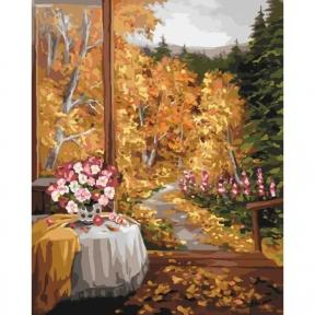 Картина по номерам Волшебный запах осени 40 х 50 см КНО2242 Идейка