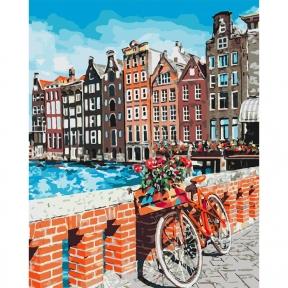 Картина по номерам Каникулы в Амстердаме 40 х 50 см КНО3554 Идейка
