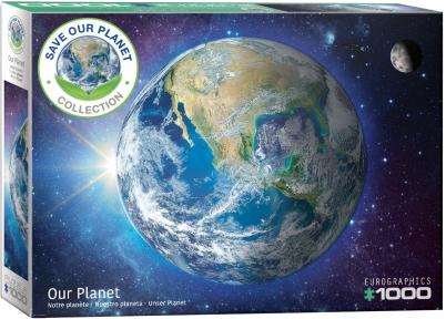 Пазл Eurographics Земля Серия Спасем нашу планету 1000 эл 6000-5541