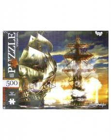 Пазл Битва в море Корабли 500 эл
