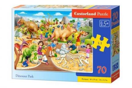 Пазл Парк динозавров 70 эл крупные