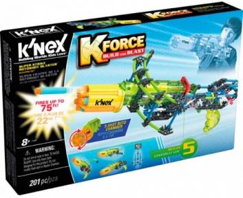 Бластер Super Strike Rotoshot (201 деталь), набор для конструирования, K`nex