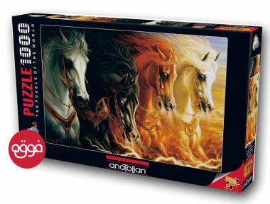 Пазл Четыре лошади 1000 эл Anatolian