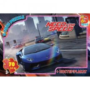 Пазл Need for Speed Нид фо Спид 70 эл