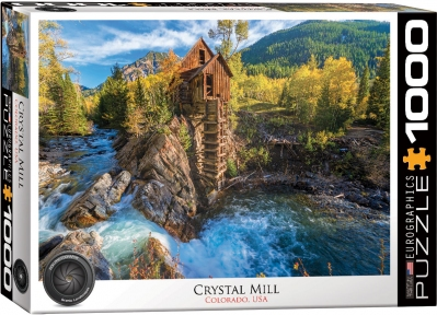 Пазл Eurographics Кристал-Милл Колорадо 1000 эл 6000-5473