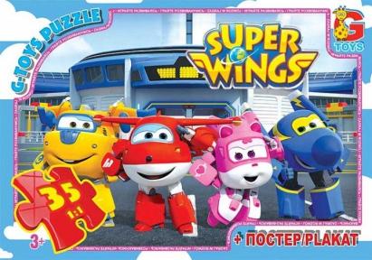 Пазл Супер крылья 35 эл UW225 G-Toys