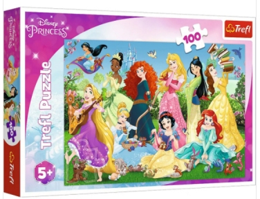 Пазл Волшебные принцессы 100 эл Trefl
