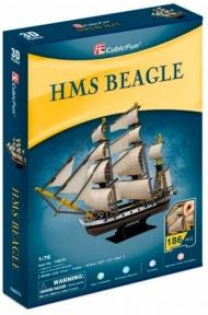Трехмерная головоломка-конструктор HMS Beagle, CubicFun