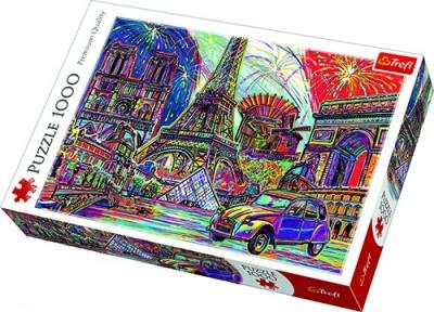 Пазл Цвета Парижа 1000 эл