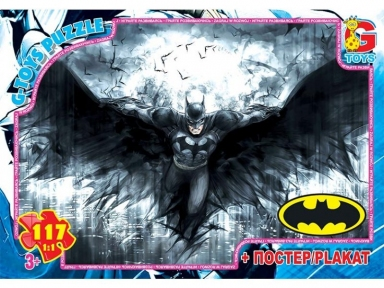 Пазл Бэтмен 117 эл BAT03 G-Toys