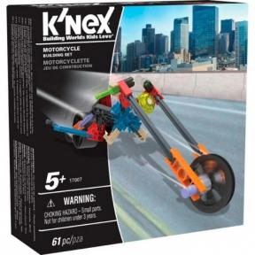 Мотоцикл (61 деталь), набор для конструирования, K`nex