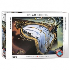Пазл Eurographics Мягкие часы в момент первого взрыва. Сальвадор Дали. 1000 эл