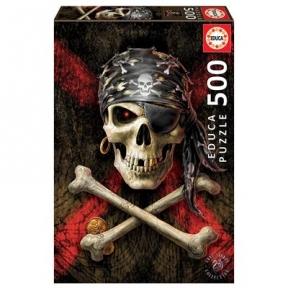 Пазл EDUCA Пиратский череп 500 эл