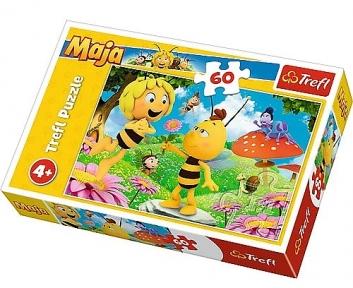 Пазл Цветочек для пчелки Майи 60 эл