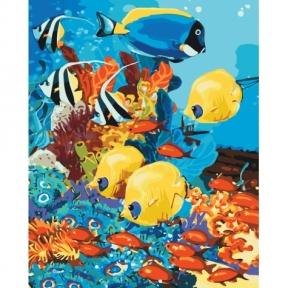 Картина по номерам Морское царство КНО4075 Идейка