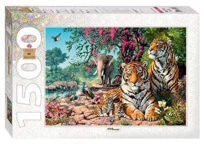 Пазл Тигры 1500 эл