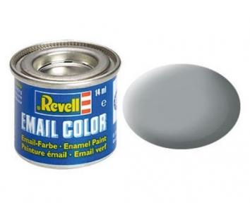 Краска для моделей эмалевая Revell № 76 Светло-серая матовая 14 мл
