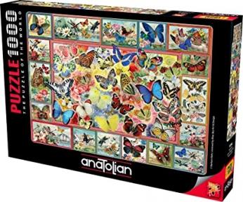 Пазл Бабочки 1000 эл Anatolian