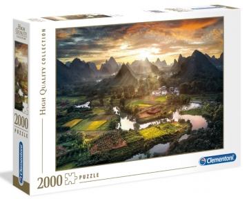 Пазл Китайский пейзаж 2000 эл Clementoni