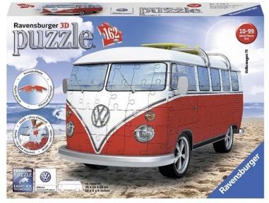 Пазл 3D Ravensburger Легендарный VW T1 162 эл