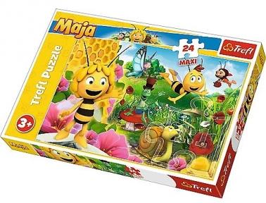 Пазл Пчелка Майя 24 эл макси