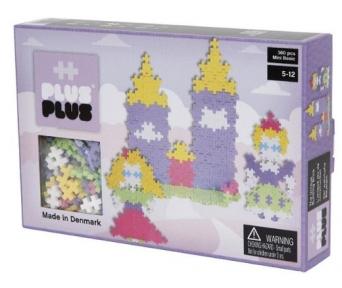 Конструктор Plus-Plus Mini пастельный Замок 360шт