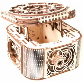 3D Пазлы Модель Шкатулка с секретом 190 дет Ugears
