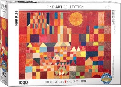 Пазл Eurographics Замок и Солнце Пауль Клее 1000 эл 6000-0836