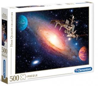 Пазл Космическая станция 500 эл Clementoni