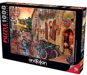 Пазл Велосипеды Тоскана 1000 эл Anatolian