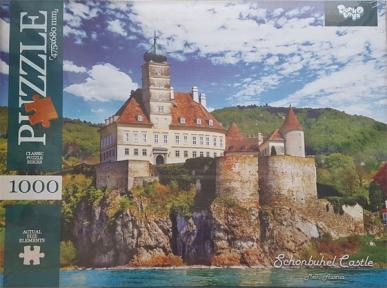 Пазл Замок Шёнбюэль в Австрии 1000 эл