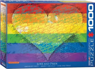 Пазл Eurographics Любовь и Гордость! 1000 эл 6000-5542