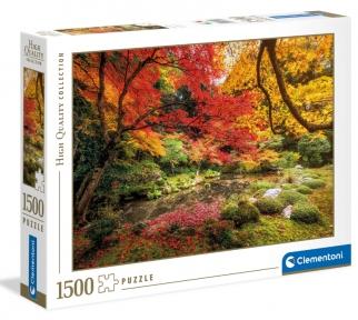 Пазл Осенний парк 1500 эл Clementoni